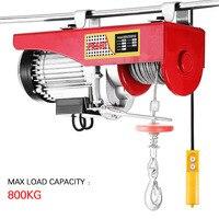 Mini Electric Hoist With Electric Car Hoist 220V PA200 PA1000 Household Crane Electric Cable Hoist Electric