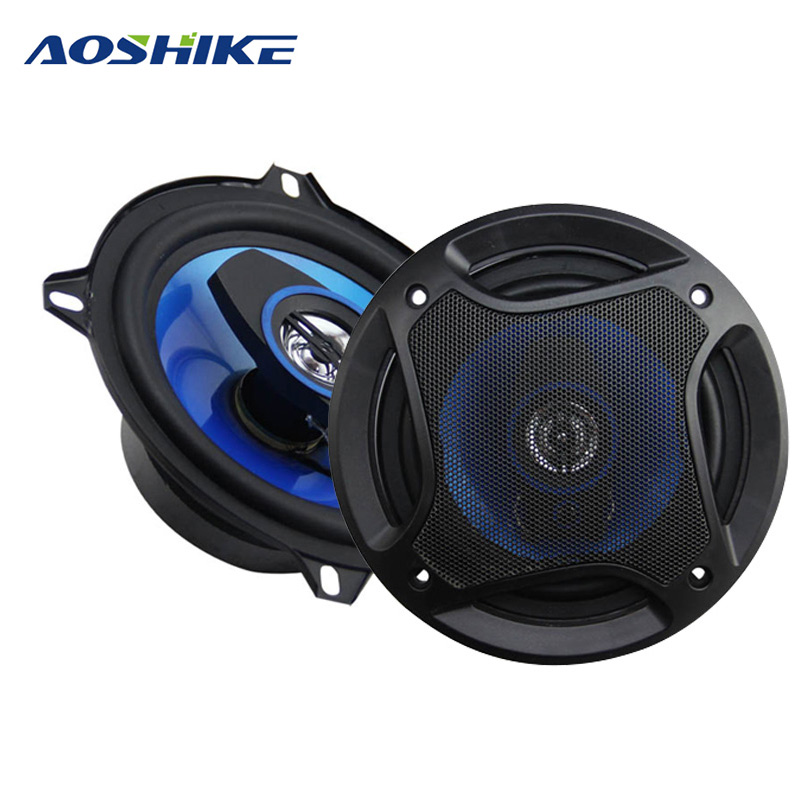 2PCS 5Inch 150W 3 Way Coaxial Car Speaker 4Ohm Auto Automobile Audio Speakers Full Range Frequency Loud speaker Car High
