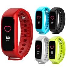 L30t Bluetooth Smart Браслет кардио динамического сердечного ритма полноцветный экран Шагомер фитнес-трекер SmartWatch