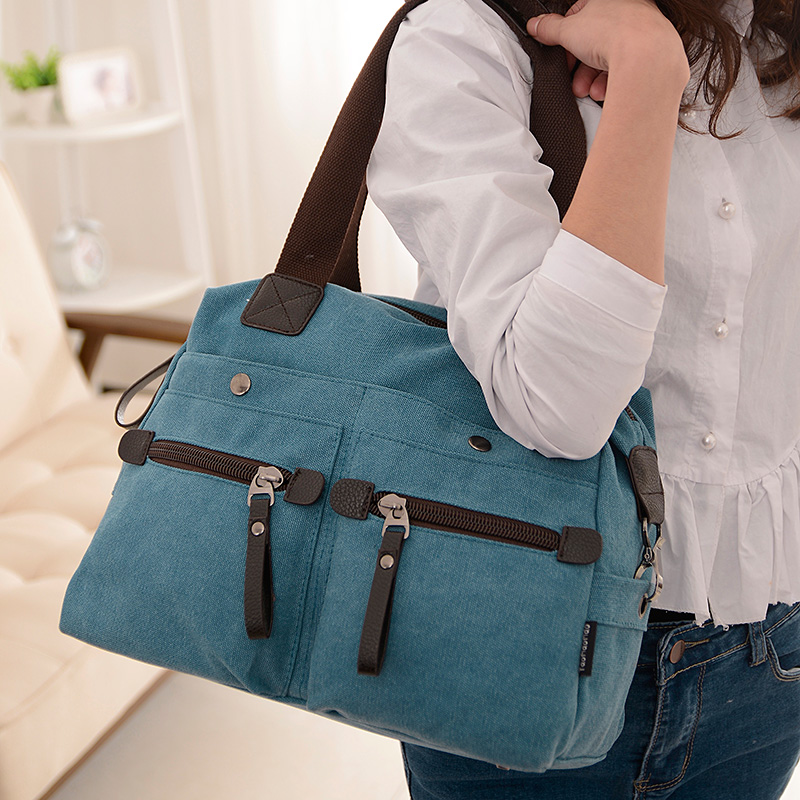 New 2016 Women Bag Canvas Handbags Messenger bags for Women Handbag Shoulder Bags Designer Handbags High Quality bolsa feminina