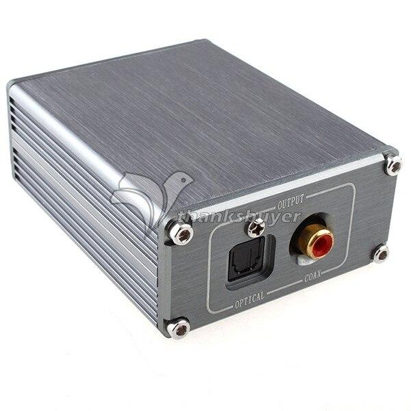 Hi Fi CM6631 USB to Coaxial Optical SPDIF Convertor For DAC 192KHZ 24bit