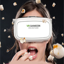 VR Shineconหลายพันกระจกวิเศษโทรศัพท์มือถือแว่นตา3Dเสมือนจริงหัวติด3D Cinema VR 3Dเกมพายุหมวกกันน็อค