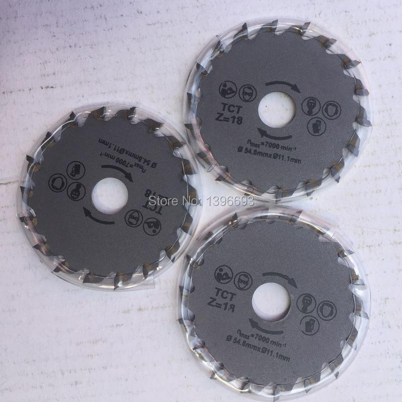 Nemokamas pristatymas 54.8x11.1mm 3vnt / partija Mini diskiniai - Ašmenys pjūklams - Nuotrauka 4