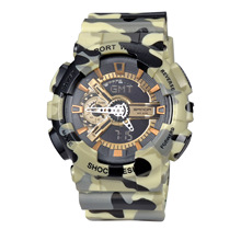 SANDA 2016 Fashion Men Women Waterproof Watches Outdoor Sports Quartzwatch Digital Wristwatch Gift For Boys Girls Student OP001