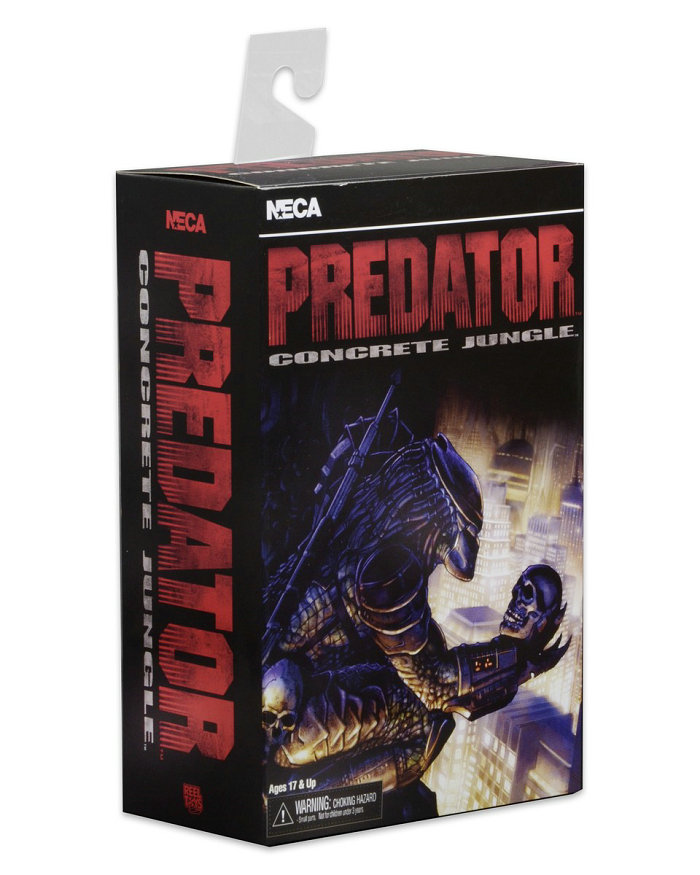 NECA Film Predator VS Alien Science Monstre Jouets City Hunter Scarface Prédateur Béton Luxueux Édition Action figure Modèle