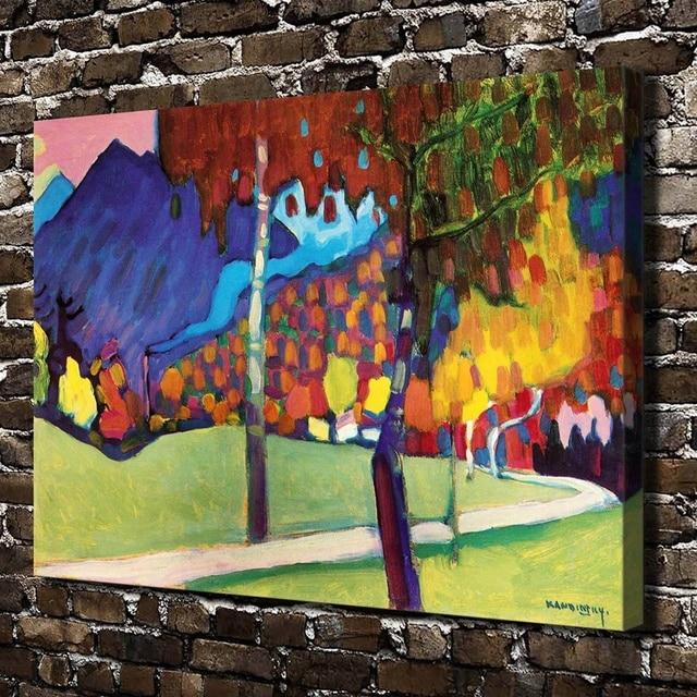 A1030 Wassily Kandinsky Desktop Tapete. HD Leinwand Drucken Home Dekoration  Kunst Malerei Wohnzimmer Schlafzimmer Wand