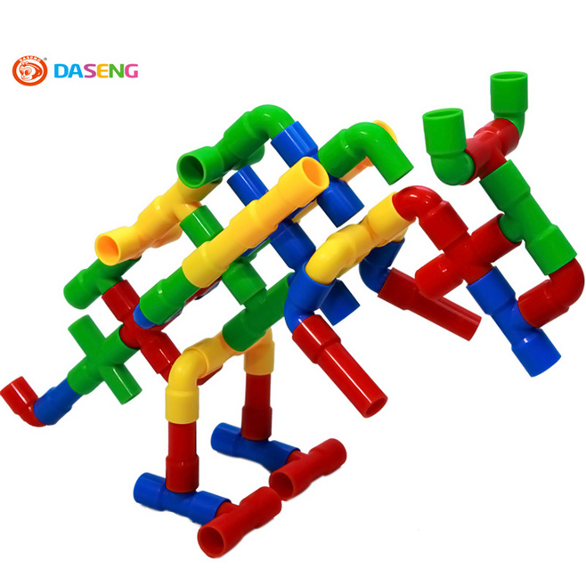 Daseng 2017 Assembling Water Pipe Plastic Building Blocks Pipeline Giftbox Kids Toys In From Hobbies On Aliexpress Com