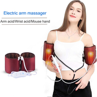 Arm massager Electric hand wrist elbow joint pain device Vibration heating kneading massager Household massage therapy 220V