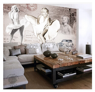 buy free shipping custom modern 3d murals. Black Bedroom Furniture Sets. Home Design Ideas