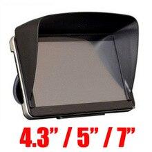 Аксессуары для GPS-навигации 4,3/5/7/дюймовая рамка GPS универсальный противосолнечный козырек Солнцезащитный козырек для GPS-экрана Блокировка к...