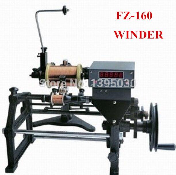 Aletler'ten Makine Merkezi'de 1 adet Yeni FZ 160 Manuel Otomatik El Elektronik Bobin Sarma Makinesi 220 V Uygulanabilir tel çapı 0.06 0.50mm title=