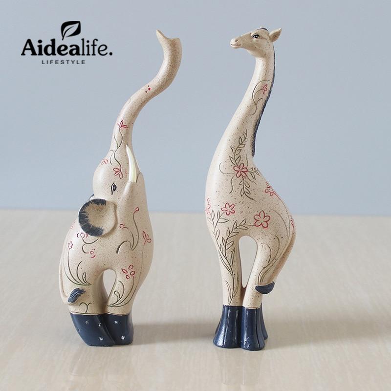 ζώα terrarium ζώο ρητίνη ελέφαντας - Διακόσμηση σπιτιού