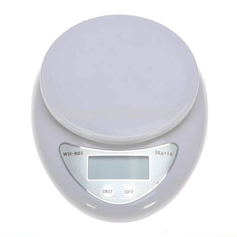 Mini 5kg Digital Scale LCD Electronic Scales Steelyard Kitchen Scales 1g Postal Food Balance Measuring Weight Libra