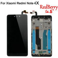 Redberry 5 5 For XIAOMI Redmi Note 4X LCD Display Touch Screen Digitizer Replacement NOTE 4X