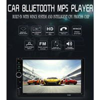 7 2 Din Car Multimedia Player Auto Radio Stereo Bluetooth 2Din Car Audio Video MP5 USB FM Universal