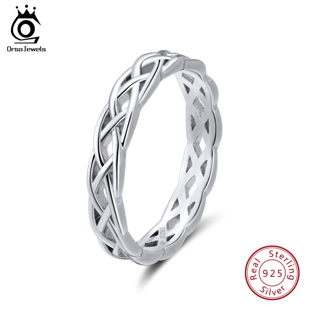 ORSA JEWELS 925 Sterling Silver Rings s