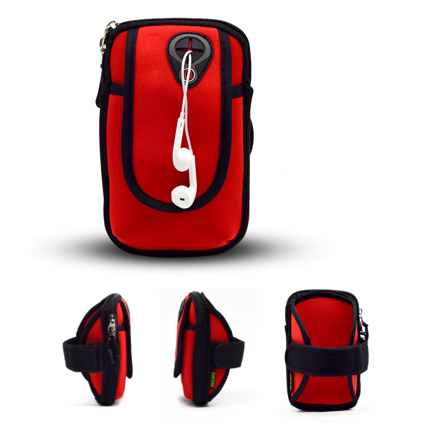 Mobile Phone Bag for Sumsung iphone Huawei Universal Running Case Wrist Armbands
