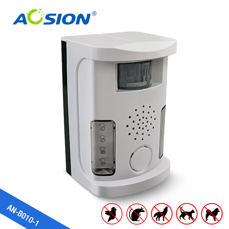 Free Shipping AN-B010-1 outdoor and indoor Multifunctional Ultrasonic animal repeller bird mole cat dog repellent pest control