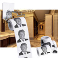 Novelty Donald Trump Smile 3ply 150 Sheets Toilet Paper Roll Funny Gag Gift Wood pulp Toilet Tissue