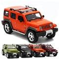 Jeep Wrangler Todoterreno Car-styling Simulación de Aleación de Coches Escala 1:32 Colección Diecast Metal Modelo de Auto de Juguete para Los Niños