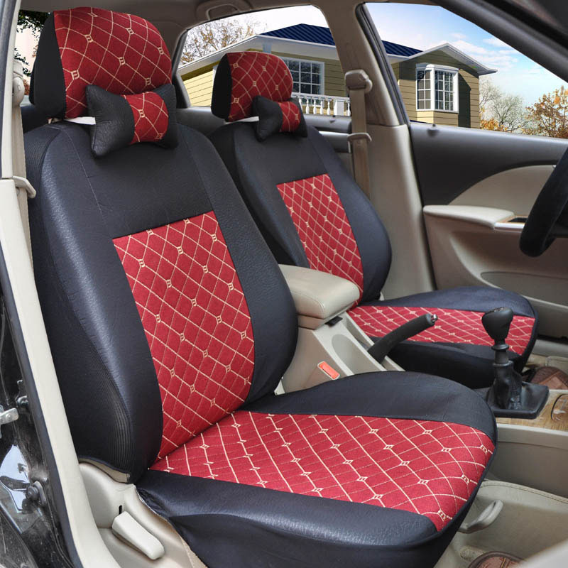 Yuzhe flax Universal car seat covers For BMW e30 e34 e36 e39 e46 e60 e90 f10 f30 x3 x5 x6 X1 530i 2010-2004 accessories styling back seat covers leather car seat cover for bmw e30 e34 e36 e39 e46 e60 e90 f10 f30 x3 x5 x6 car accessories car styling