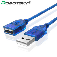 USB 2.0 Cable USB2.0 Extension Extender Male To Female Cabo USB Data Cables For PC Keyboard Printer Camera Mouse Game Controller