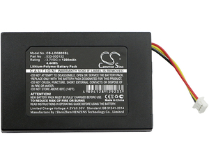 Cameron Sino 1200mAh Battery 533-000132 for Logitech G533, G933(China)