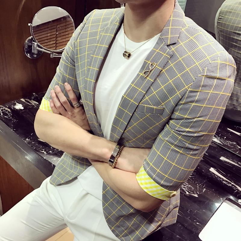 Compra hombres chaqueta amarilla online al por mayor de