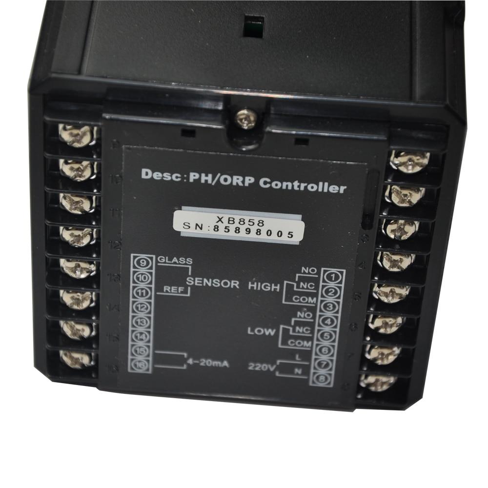 CT-6658 устройство контроля pН/контроллер orp CT-6658+ ph-электрод промышленности PH датчик CT-1001+ DHL/FedEx и быстрая