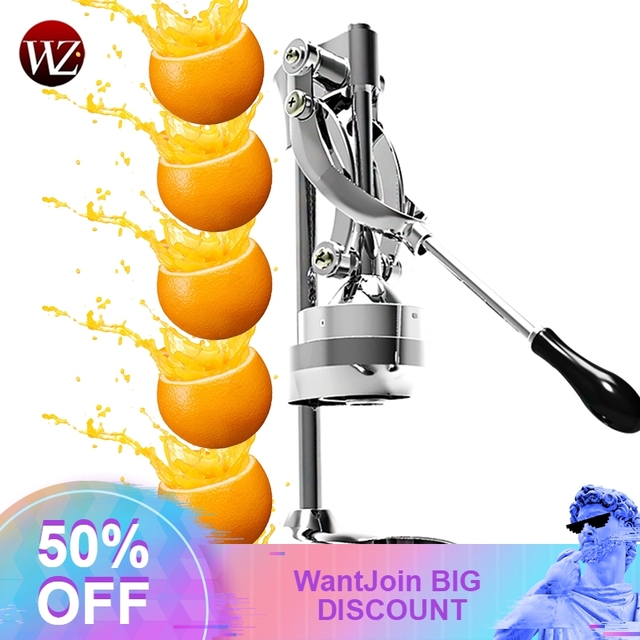 Stainless Steel commercial lemon orange pomegranate fruit juice extractor manual hand press squeezer citrus Fruit Pressing Machi