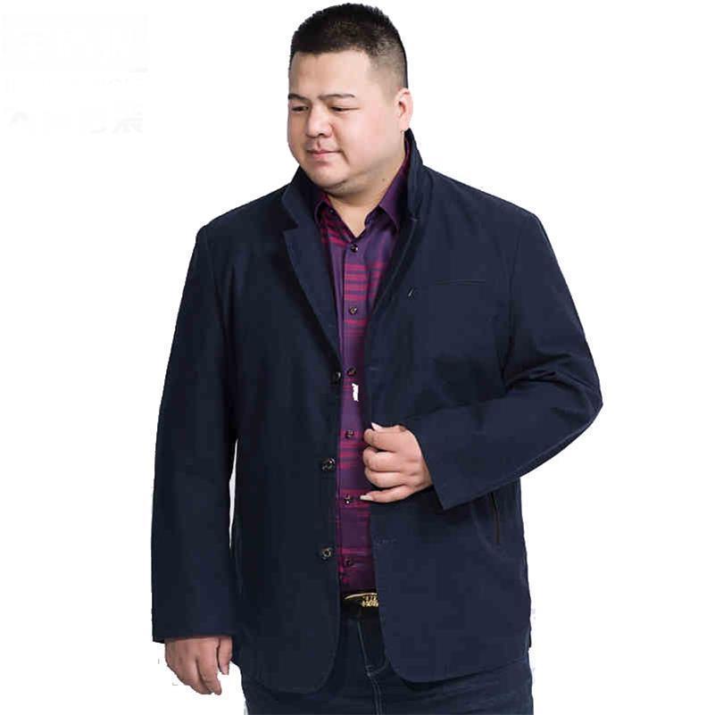 Artı Boyutu 8xl 7xl Yeni Varış Marka Giyim Sonbahar Elbise Blazer