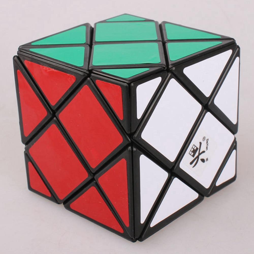 Brand New Dayan Quatre Dino Skew Magic Cube Vitesse Puzzle 4-Axe 4-Rang Cubes Jouets Éducatifs pour enfants Enfants