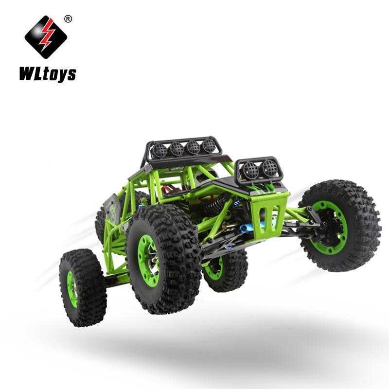 ორიგინალური Wltoys 12428-A 1/12 2.4G 4WD 50km / - დისტანციური მართვის სათამაშოები - ფოტო 5