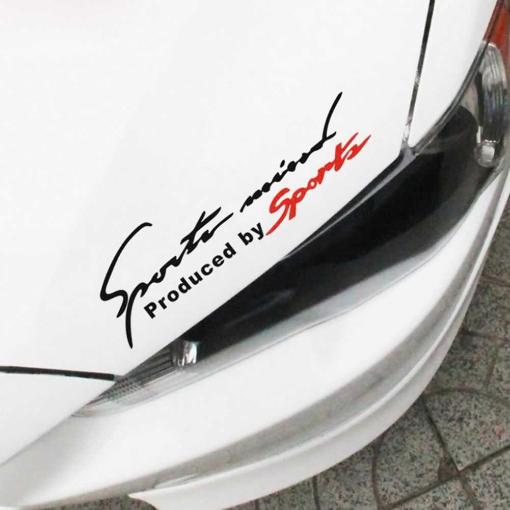 1 Pcs Stiker Mobil Sport Mind Body Lampu Pribadi Cahaya Alis Reflektif Tidak Ada Residu Stiker Di Mobil