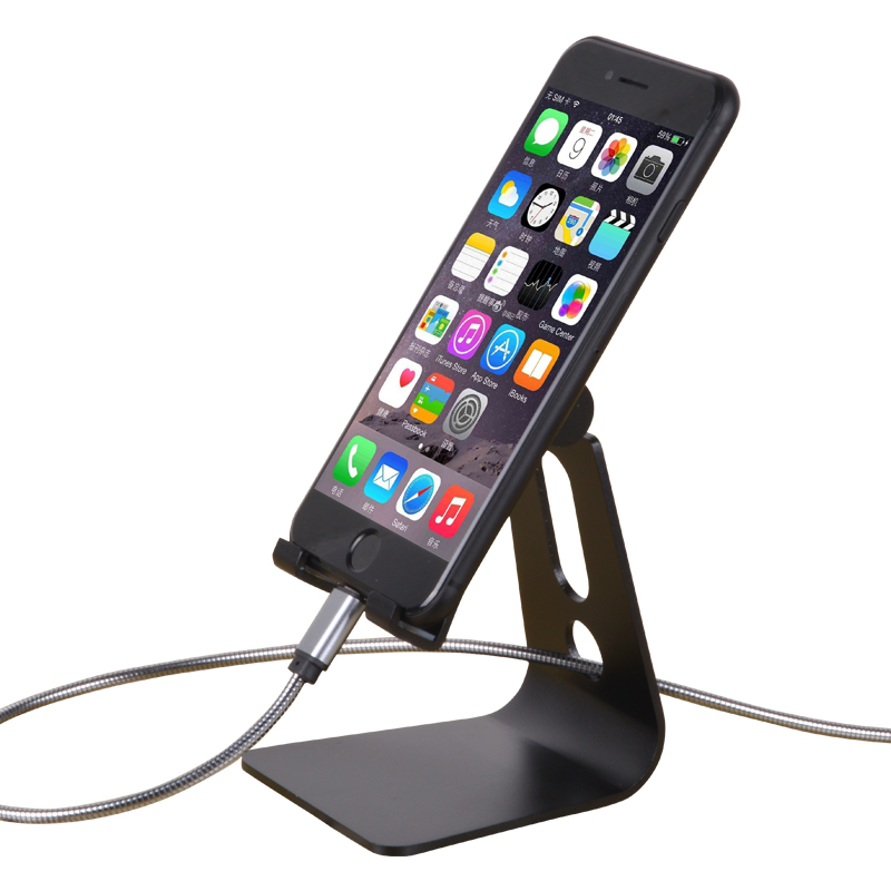 Desktop Cradle Dock Watch TV Support Cellphone stand Mobile Phone Holder for iphone/ Samsung/ Huawei/ Vivo/ Oppo zd desktop clip on flexible cellphone holder for iphone samsung htc more black