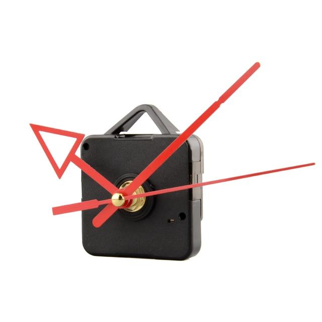 silencieux horloge batterie puissance mecanisme de mouvement a quartz rouge fleche main piece de rechange kit