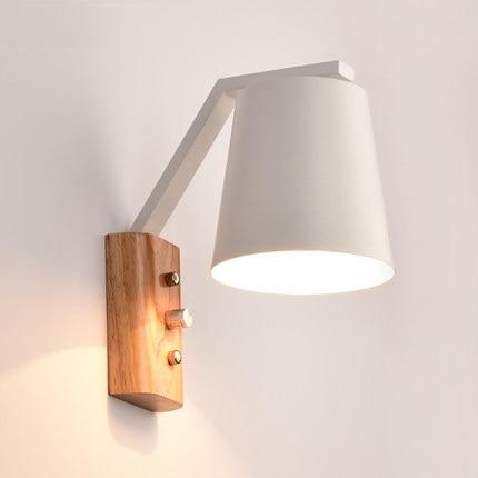 Kreative Holz Eisen Wandleuchte Band Schalter Moderne Led ...