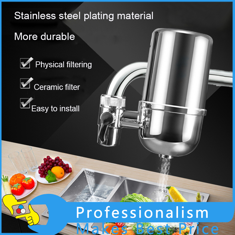 Kitchen Water Filter Faucet Water Lonier Remove Water Contaminants Alkaline Water Ceramic Cartridge Purifier kitchen as resin faucet filter transparent blue