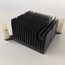2 قطعة/الوحدة 40x40x20 مللي متر الألومنيوم المبرد بالوعة الحرارة المبرد ل رقاقة الإلكترونية LED RAM برودة التبريد