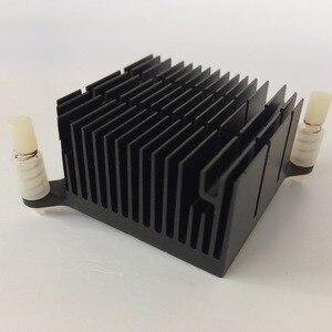 Image 1 - 2 pçs/lote 40x40x20 milímetros de Alumínio do Dissipador de Calor do radiador Do Dissipador de Calor para Chip eletrônico LEVOU RAM REFRIGERADOR de refrigeração