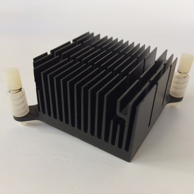 2 pçs/lote 40x40x20 milímetros de Alumínio do Dissipador de Calor do radiador Do Dissipador de Calor para Chip eletrônico LEVOU RAM REFRIGERADOR de refrigeração