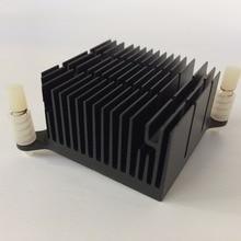 Radiateur dissipateur thermique en aluminium, radiateur pour puces électroniques LED, refroidissement, 40x40x20mm, 2 pièces/lot