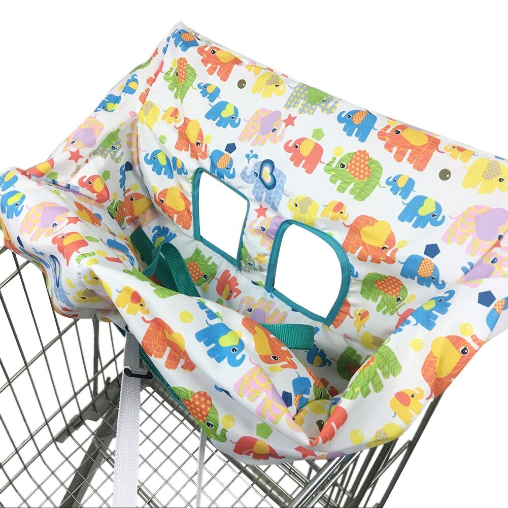 Infant Child Supermarket Shopping Cart Dining Chair Protector Antibacterial Safe Portable Travel Cushion