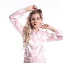 Free Shipping 2015 Pink Ladies jacket 50s women sexy fancy costume size s -6xl b18c0c5f2639