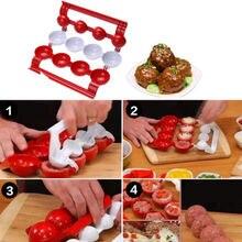 Новое поступление, форма для фрикаделек, мягкие рыбные шарики, сделай сам, домашняя форма, Кухонная машина, кухонные инструменты, аксессуары
