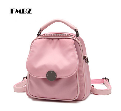 FMBZ 2018 new small fresh shoulder bag Woman casual Beauti wild Oxford small backpack shoulder female bag free shipping цена 2017