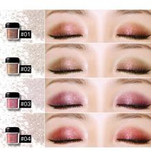 Natural Glitter Eye Shadow Palette Makeup 28 Colors Bright Eyeshadow Nude Shimmer Pigment Eyeshadow Powder Beauty Cosmetics a4