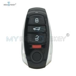 Remtekey inteligentny klucz 4 przycisk 315Mhz dla Volkswagen Touareg 2011 2012 2013 2014 2015 2016 2017 IYZVWTOUA w Kluczyki samochodowe od Samochody i motocykle na