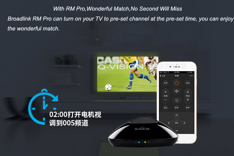 5-Broadlink RM2 RM PRO Universal Smart Wifi Remote IR RF + A1 E-Air Quality Detector Infrared Home Automation kit Sensor Smart App