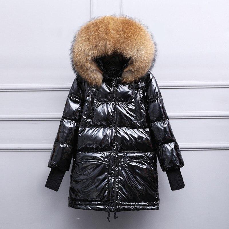 2019 New European style Fashion Real Fur Coat Women Warm Winter Fur Coat waterproof Fur Coat Thick Female Jacket Mink Coat-in Faux Fur from Women's Clothing    1